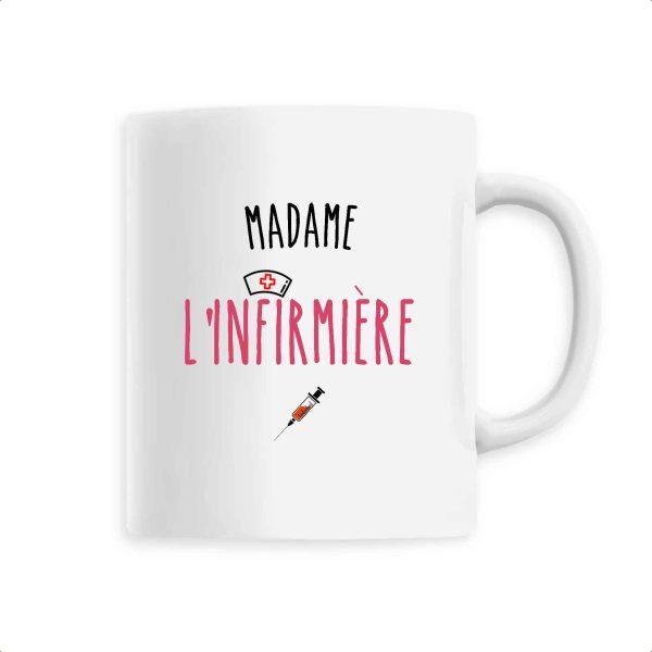 Mug infirmière - Madame l'infirmière