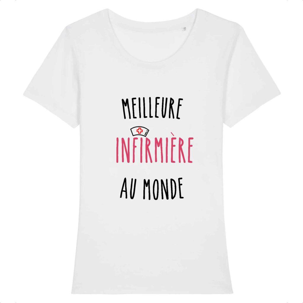 T-shirt infirmière – Meilleure infirmière au monde