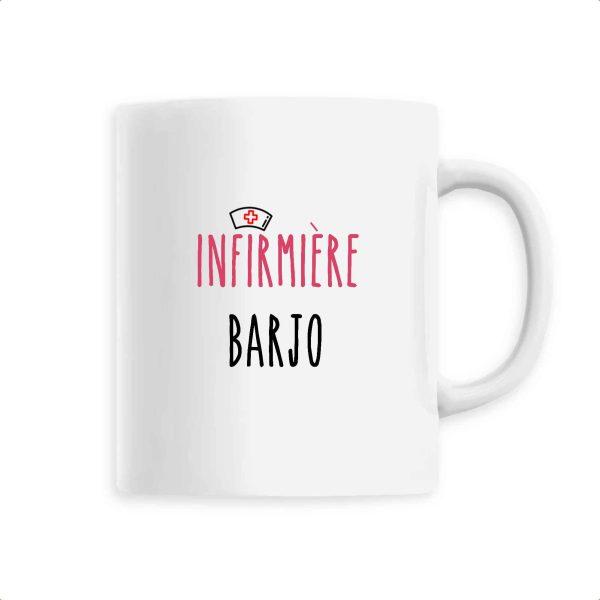 Mug infirmière - Infirmière barjo