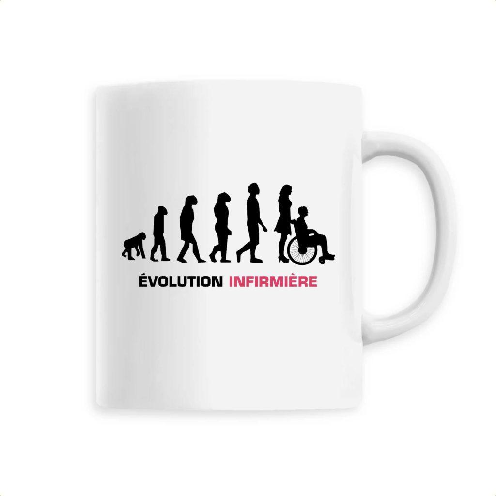 Mug infirmière - Infirmière évolution