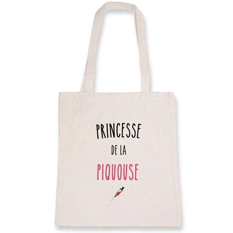 Tote bag infirmière - Princesse de la piquouse