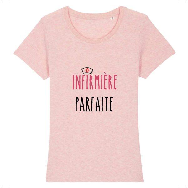 T-shirt infirmière – Infirmière parfaite - rose