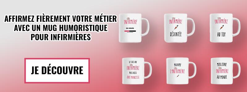 mugs pour infirmières