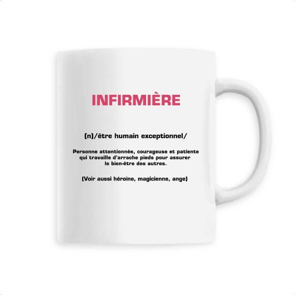 Mug infirmière - signification infirmière