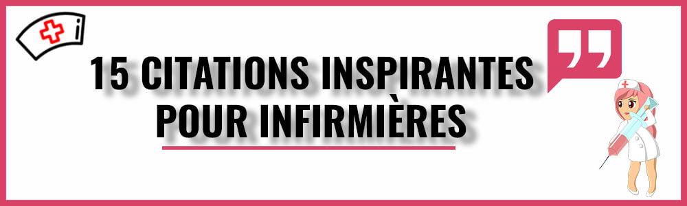 15 citations inspirantes pour infirmières