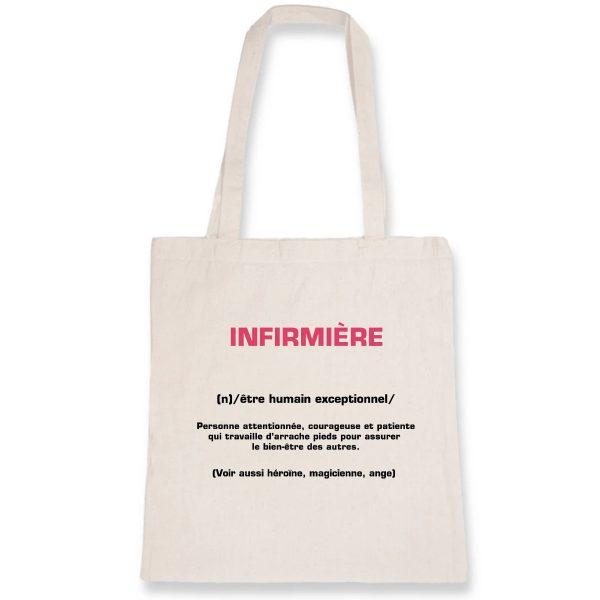 Tote bag infirmière - infirmière signification