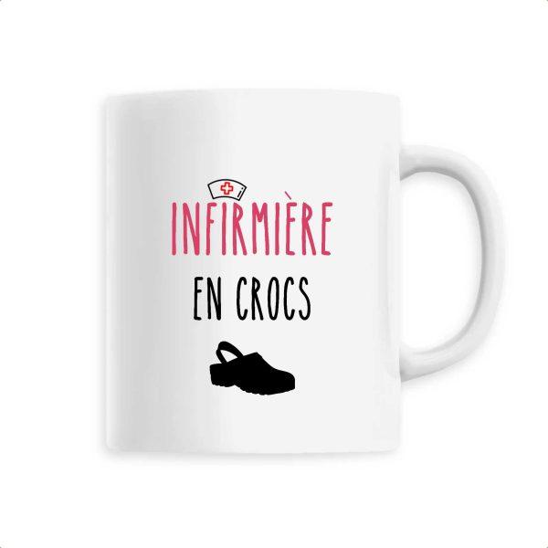 Mug infirmière - Infirmière en crocs