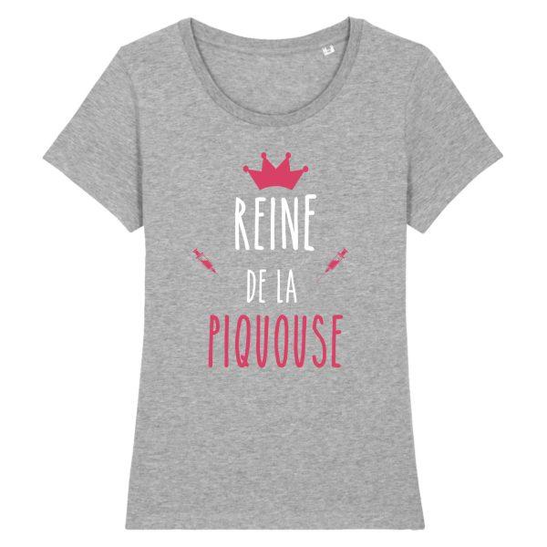 T-shirt infirmière – Reine de la piquouse