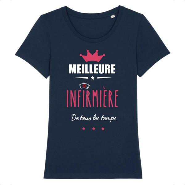 T-shirt infirmière – Meilleure infirmière de tous les temps